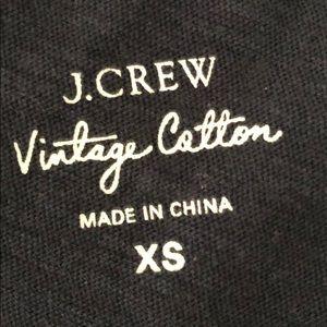 J. Crew Tops - J. Crew Vintage cotton Crewneck T-shirt